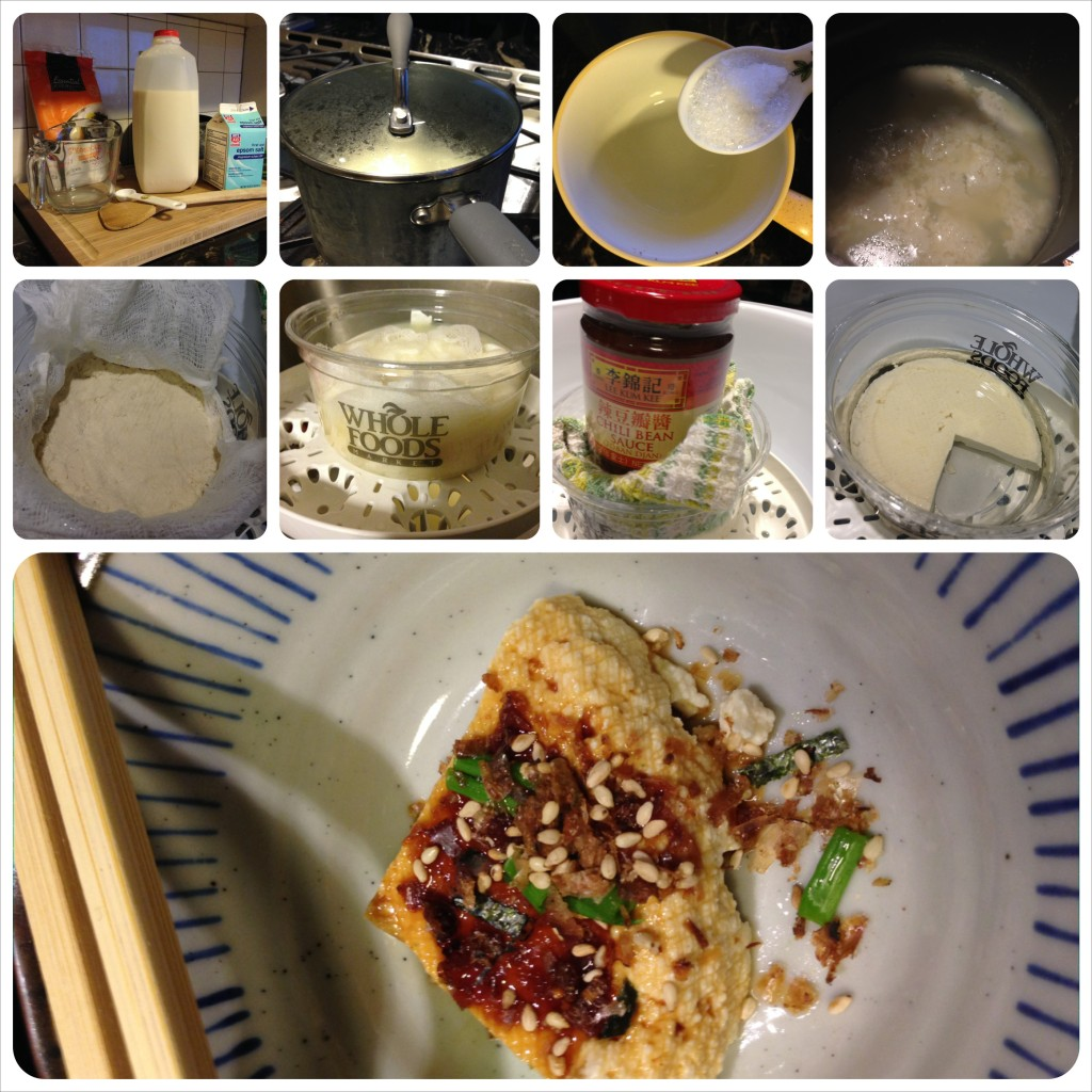 Manual tofu method: many many more steps and attention paid.