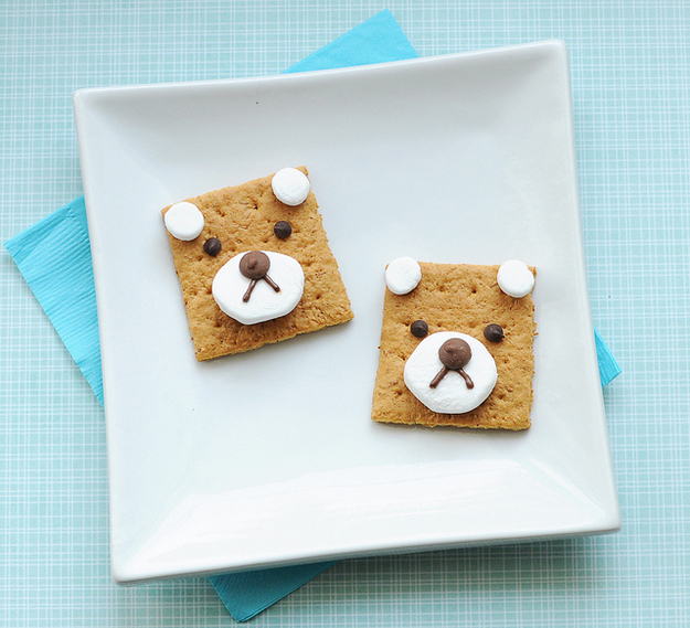 teddy bear s'mores?!!