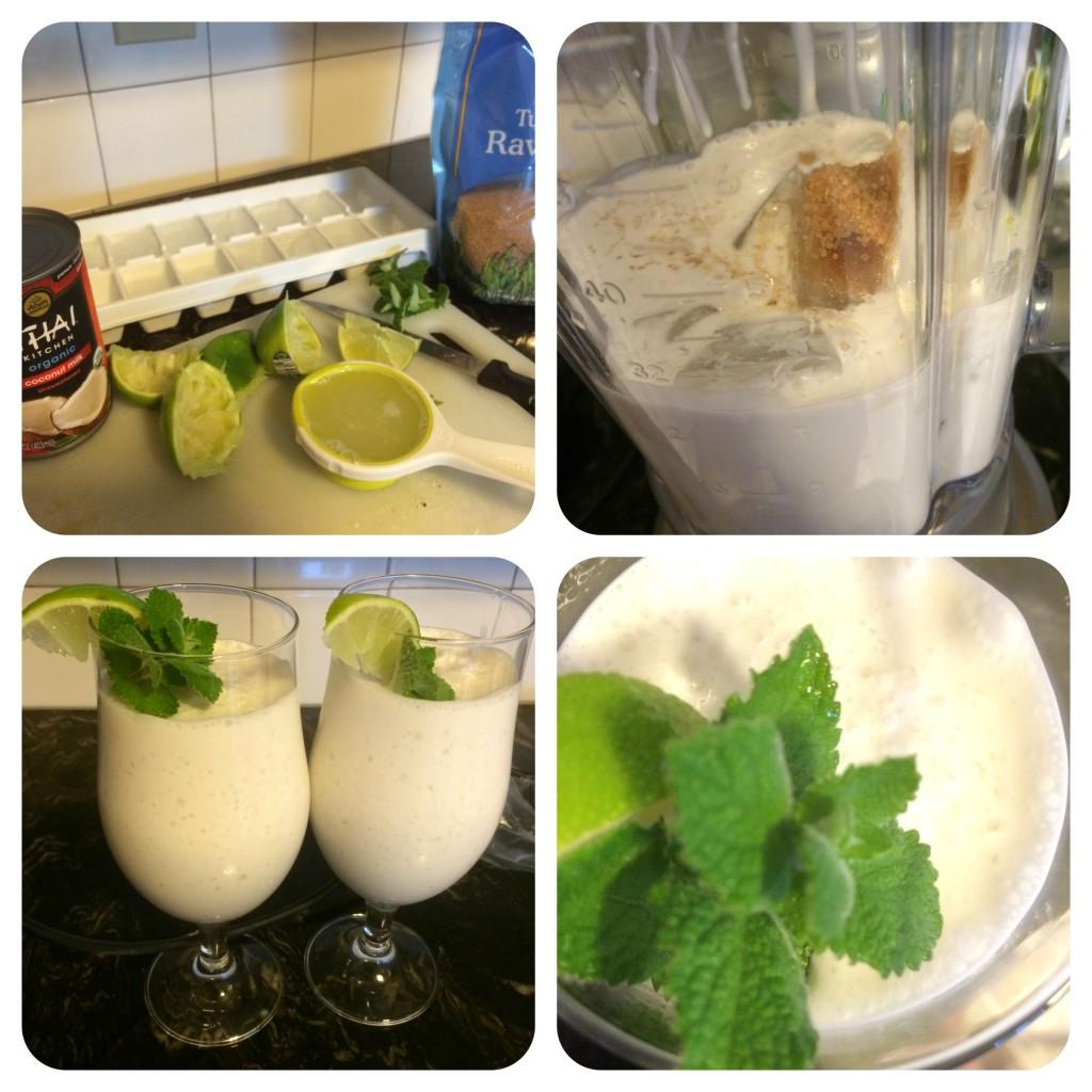 Squeeze, blend, garnish, sip, aaah!