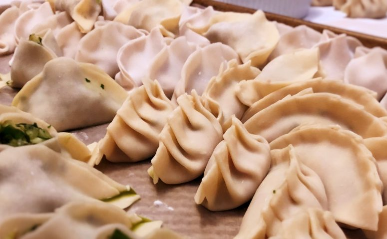 Home-made Pot Stickers (Photo: Yiling Wong)