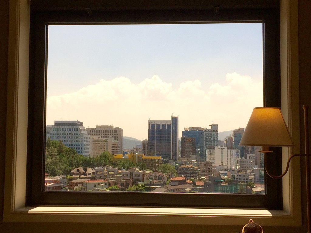Good morning Seoul! Pretty as a picture..