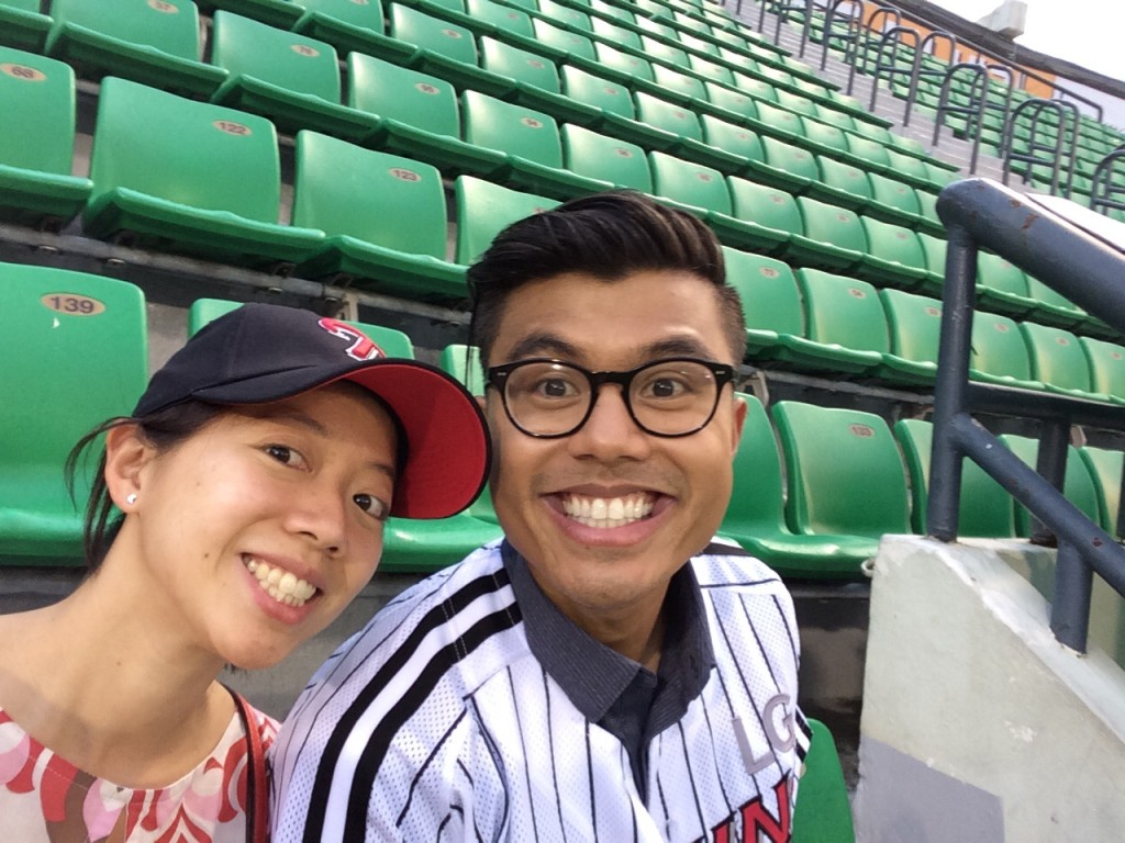 So excited for the game! and the constant cheering! Too bad the LG Twins lost..