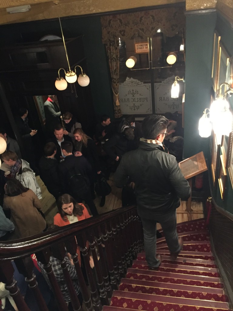 Inside John Snow's pub: another lively pub!