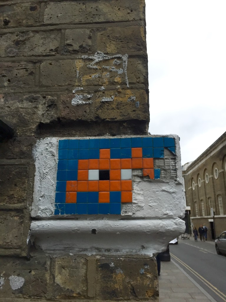 Space Invader has been everywhere, including London.