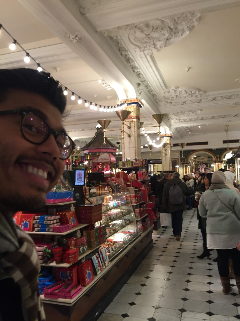 Inside Harrod's department store!