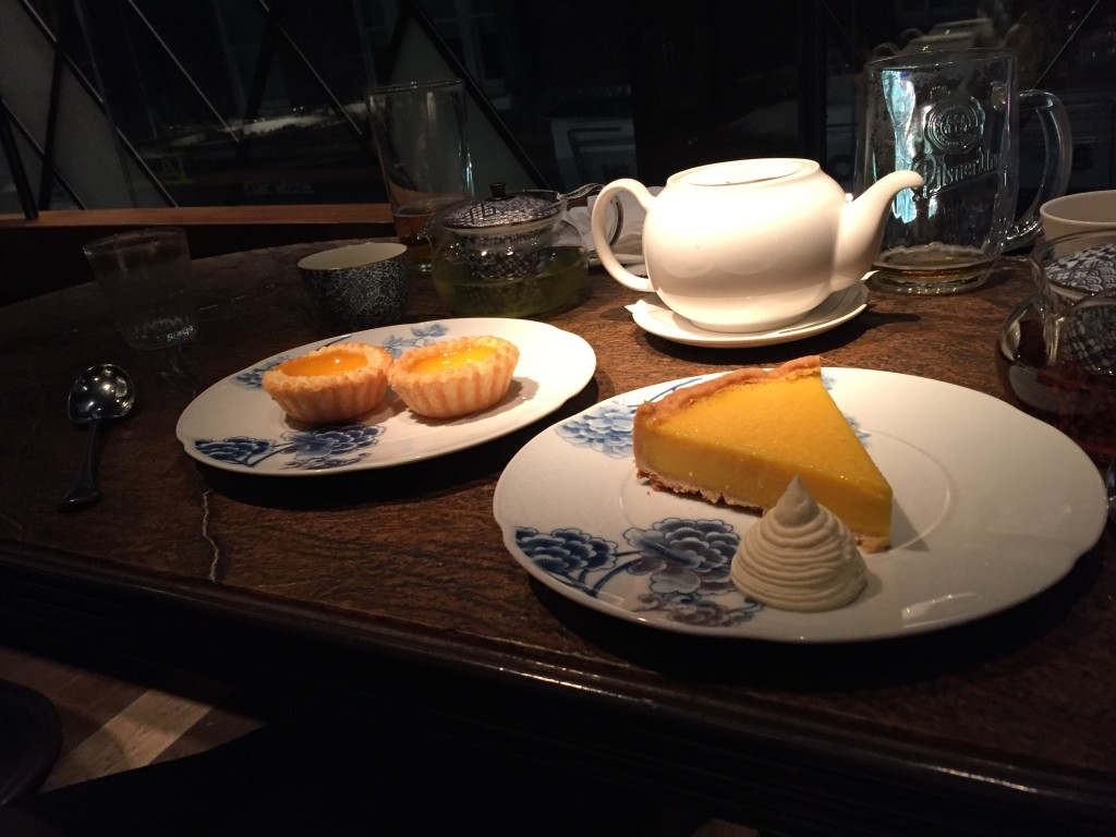 @Duck & rice: dessert was huge! Oops. Should not have had this tea, we were awake half the night!