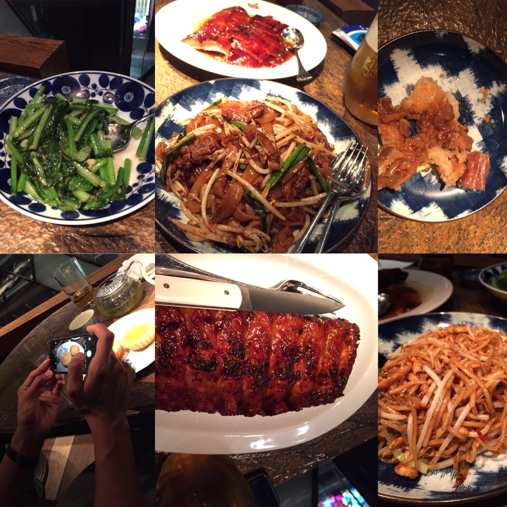 @Duck & rice: food collage!
