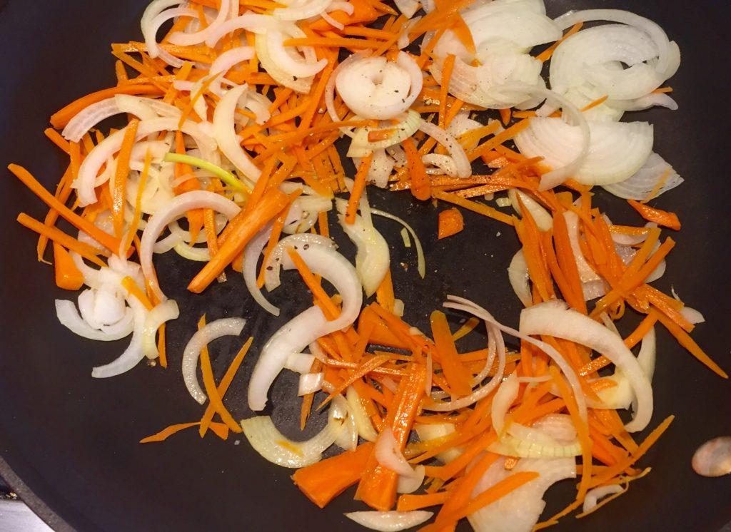 Sautéed veggies.