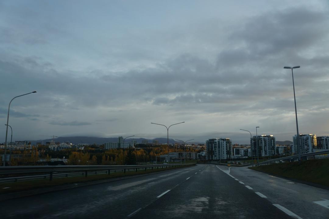 Reykjavik buildings, October 14, 2018