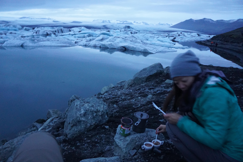 Jökulsárlón: worth the chill (Photo: Kristoffer Jonson)