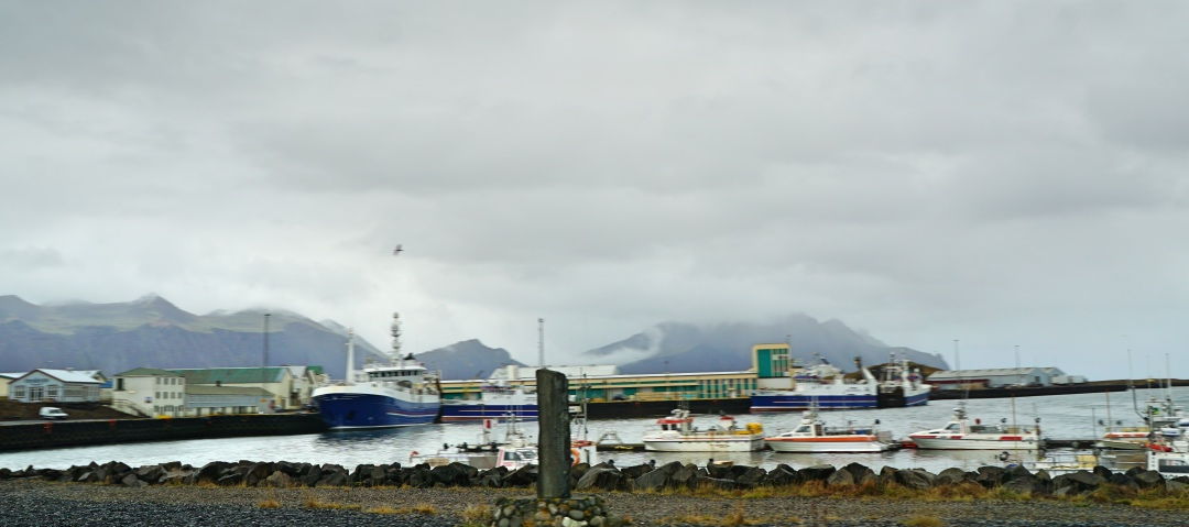 Quaint fishing town of Hofn, Iceland