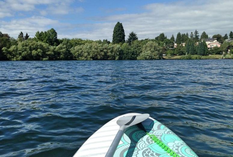 SUP on Green Lake (Photo: Rose Gear 2018)