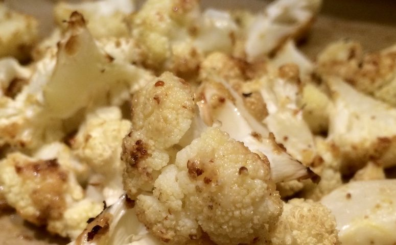 Roasted Mustard Lemon Cauliflower from Food the Wong Way