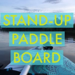 Stand-up paddle boarding (Photo: Yiling Wong)